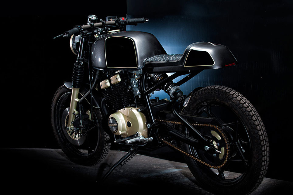 Our Project / Concept Motorcycle Suzuki GSX 250 with Café Racer seat